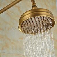 Antique Bronze Brass Shower Head Top Over Head Water Saving Bathroom Shower Sprayer Rainfall Shower Heads Ksh009