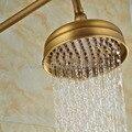 Cabezal de ducha antiguo de bronce y latón sobre la cabeza rociador de ducha de baño ahorrador cabezal de ducha de agua de lluvia Ksh009
