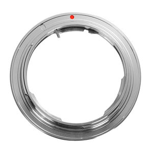 Image 2 - Silver Adapter Ring for Olympus OM Mount Lens to Canon EOS 7D 6D 5D 2 3 760D 750D 700D 650D 1200D Camera