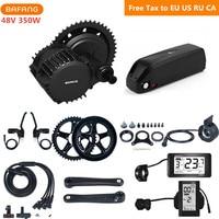 Bafang 8fun 48V 350W BBS01B Mid Drive Motor Kits With 48V 17AH Hailong Lithium Battery C965 C961 Eletric Bicycle Conversion Kits