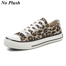Fashion Leopard Shoes 2019 Women Shoes Autumn Winter Casual Canvas Shoes Women Sneakers High-top Ladies Flats zapatos de mujer e lov vintage design postage stamp and emblem printed canvas shoes high end customzied women casual flats zapatos mujer