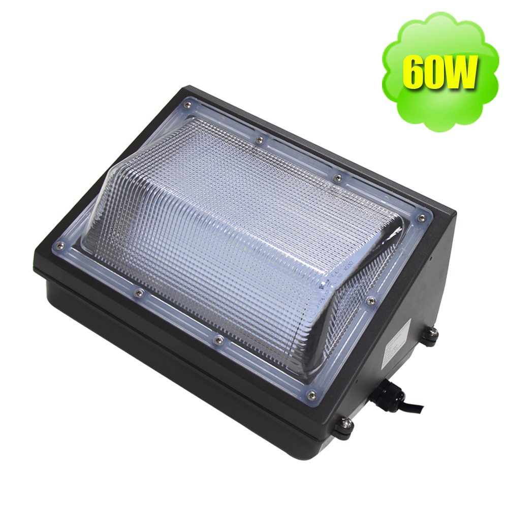Wall Pack Led 60w Outdoor Led Light Fixtures Smd 3030