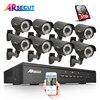 8CH CCTV System 3TB HDD Onvif 1080P HD H 264 Varifocal 2 8mm 12mm 2 Array