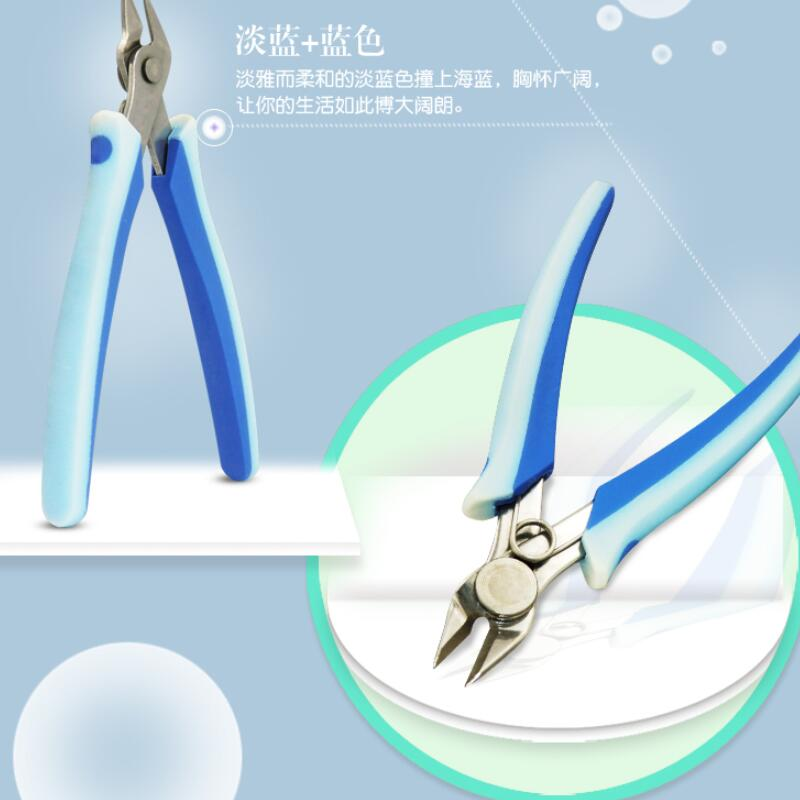 Купить с кэшбэком multifunctional Side cutting machine Manicure Nail clippers  stainless steel clippe, office scissors, slanting tools wire cutter