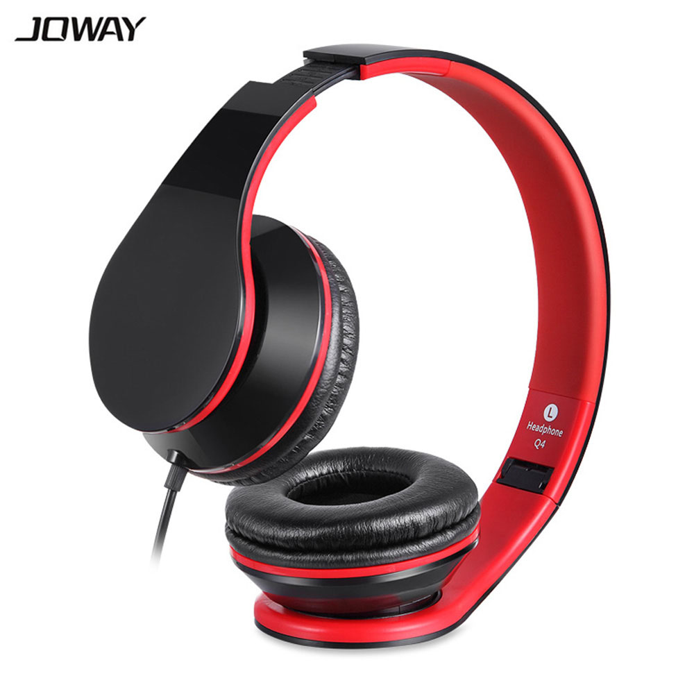 JOWAY Wired Gaming Headset with Microphone Over Ear Computer Headphone Game Earphone Sound Music for Computer Phone Xiaomi sound intone c18 adjustable over ear headpones wired hifi sound stereo headsets with microphone for phone music computer gaming
