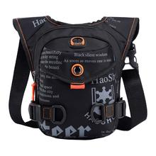 Men's Waterproof Nylon Outdoor Ride Leg Bag Drop Fanny Waist Belt Hip Bum Motorcycle Riding Waist Leg Bag Messenger Shoulder bag цена и фото