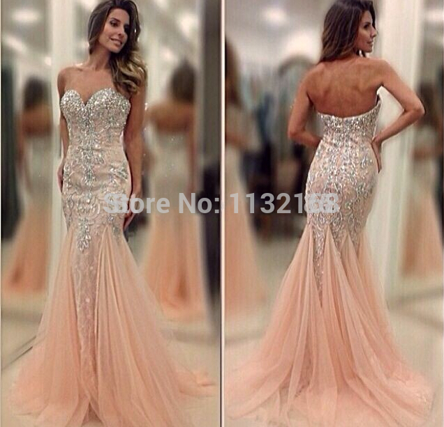 bfe53f60db1c1 Sexy Evening Dresses,Sweetheart Stylish Mermaid Prom Dresses Gowns Unique  Design Mermaid tulle beading formal evening dresses-in Evening Dresses from  ...