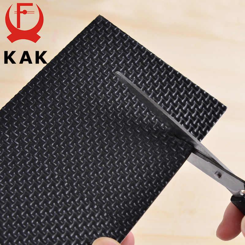KAK 1-24 PCS Pés Autoadesivo Mobiliário Perna Tapete de Feltro Anti Esteira do Deslizamento Amortecedor para carros Para Cadeira protetor de mesa Hardware