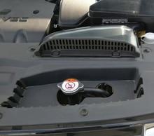 Автомобильный двигатель розетка крышка отделочный Стикер Украшение для Mitsubishi Outlander 2016 2017 автомобиля-аксессуары для укладки