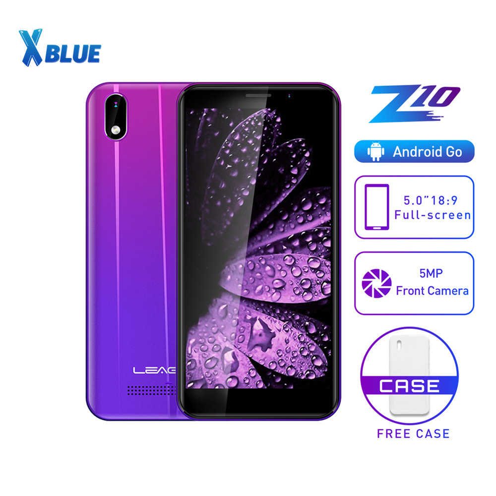 """LEAGOO Z10 Android Mobile Phone 5.0"""" 18:9 Display 1GB RAM 8GB ROM Dual Sim MT6580M Quad Core 2000mAh 5MP Camera 3G Smartphone-in Cellphones from Cellphones & Telecommunications    1"""