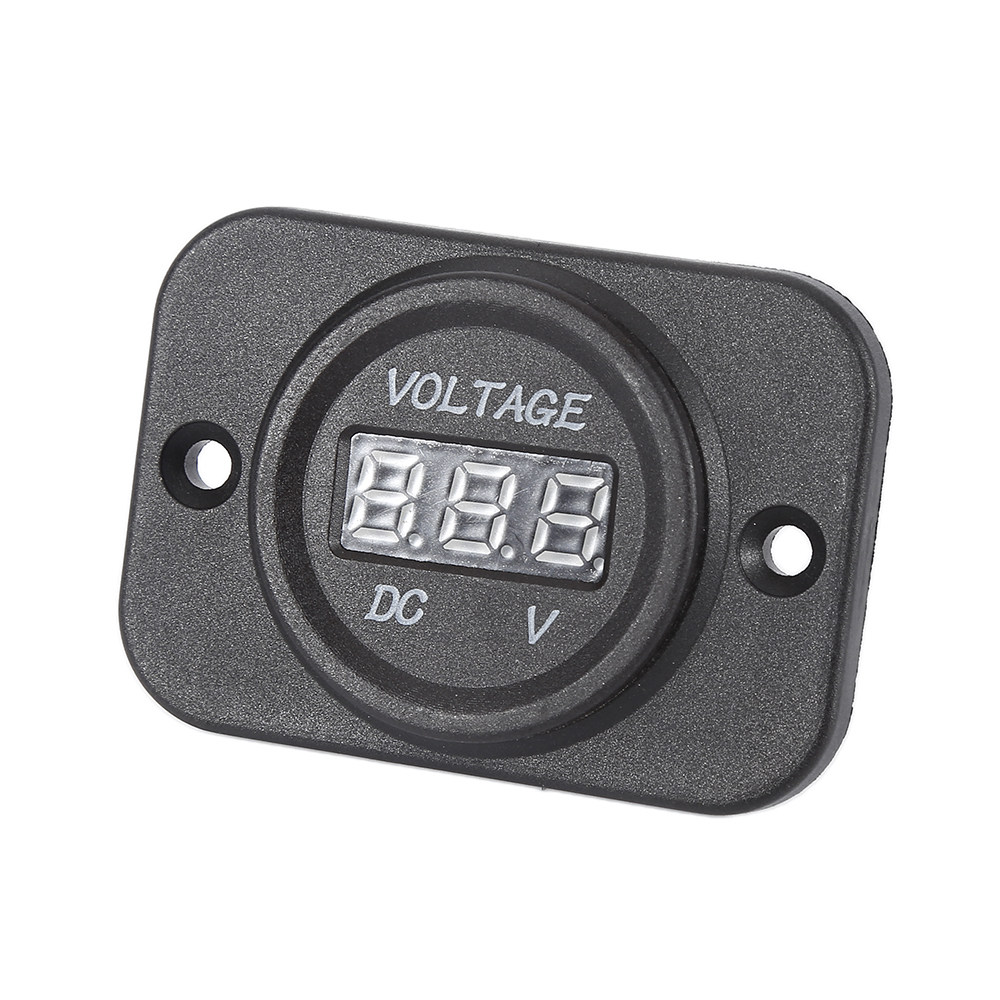 Ultra-thin LED Digital Display Voltmeter Voltage Meter Car Motocycle Hot Sale ...