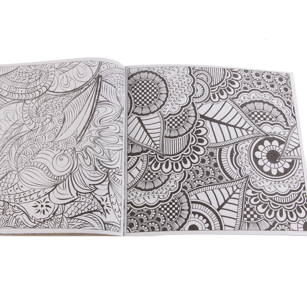2019 New Lost Ocean Drawing Coloring Book Graffiti Books Adult Painting Children
