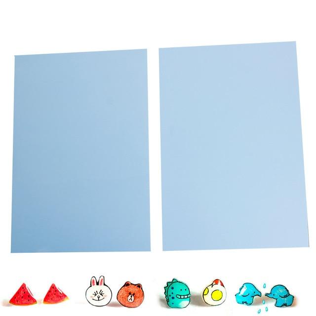Kunststoff Shrink Rechteck Blau Non Printable29cm 11 38 X 20 Cm