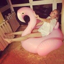 Гигантский Единорог надувной буй Фламинго бассейн Плавающий Матрас пляжные вечерние Boia Piscina Летние Водные игрушки для взрослых бассейн плоты