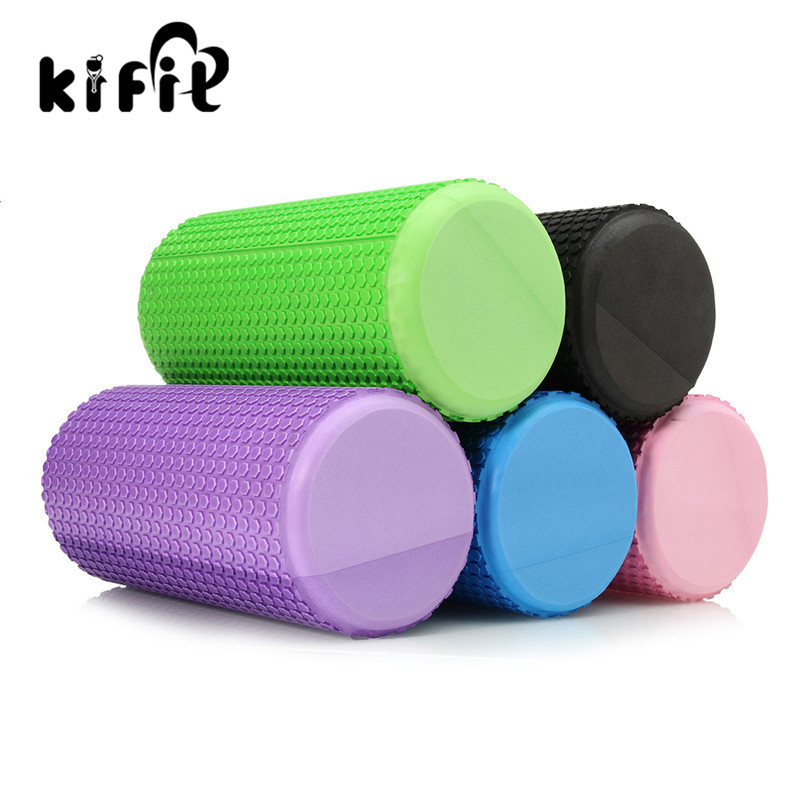 KIFIT Gym Exercise Fitness Floating Point EVA Yoga Foam Roller Physio Trigger Massage Health Beauty Tools 5 Colors 1pc top healthy organic bamboo wood natural wooden yoga brick training block exercise fitness gym practice tool