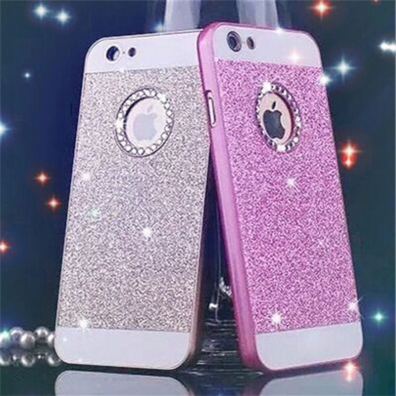 For apple iPhone 5/5S/SE/6/6S/7,Glitter Acrylic cases 5 5S SE 5SE 6 6S 7 S PLUS luxury,coque cover iphone6s 6 s phone paillettes
