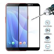 Para htc u11 plus vida u12 vidro temperado caso do telefone capa completa protetor de tela filme para htc u ultra play sceen vidro para u11