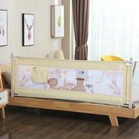 1 PC 150 ~ 200 Cm Kartun Bayi Pagar Keamanan Penjaga Adjustable Rel Ranjang Tidur Bayi Saku Boks Anak-anak pagar Pembatas Tidur Biaya Tempat Rail
