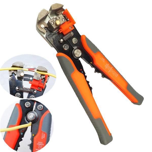 Multifunctional Automatic Wire Cable Stripper Crimper Terminals Self Adjusting Plier Tool rasp dremel 2016  цены