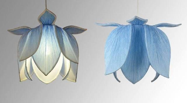 Modern fashion chinese style lotus flower pendant light hanging lamp modern fashion chinese style lotus flower pendant light hanging lamp e27 cloth art deco white mightylinksfo