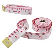 79inch/200cm Dual Sided Body Measuring Ruler Sewing Cloth Tailor Tape Measure Soft Tape Measure Ruler Chest Waist Circumference [store] special pa lion tools fiberglass tape soft tape measure tape soft tape measure carpentry