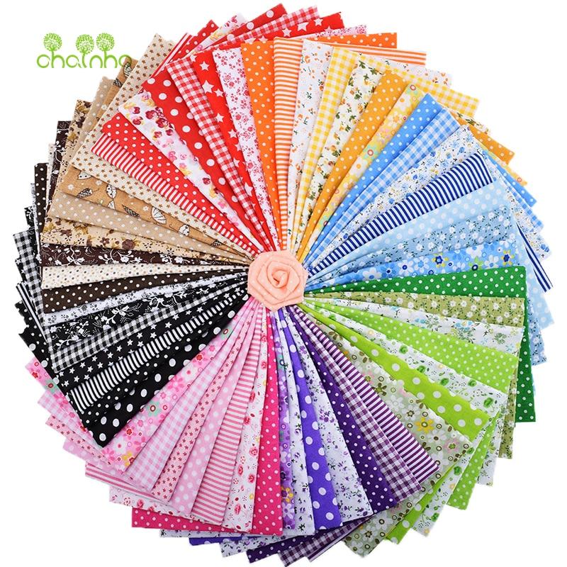 56 pcs/lot mince coton tissu Patchwork pour bricolage Quilting couture gros quarts paquet tissu Telas Tilda couture 50*50 cm