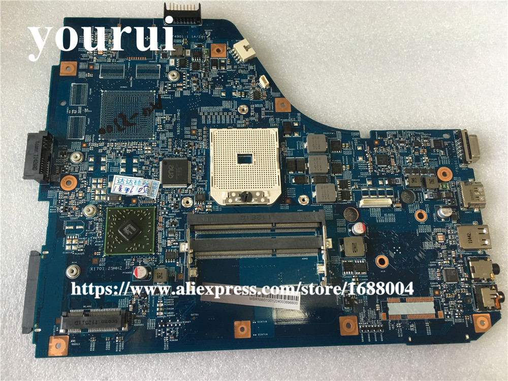 Mainboard for Acer Aspire 5560 5560G Series Laptop Motherboard MB.RNW01.001 MBRNW01001