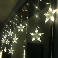 AC220V 3M led string light New year indoor lighting garland star modeling led luminarias christmas decoration