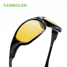 NEWBOLER 2017 Fishing Eyewear Polarized Yellow Brown Lenses Men Women Fishing Glasses driving Night Sport Sunglasses UV400