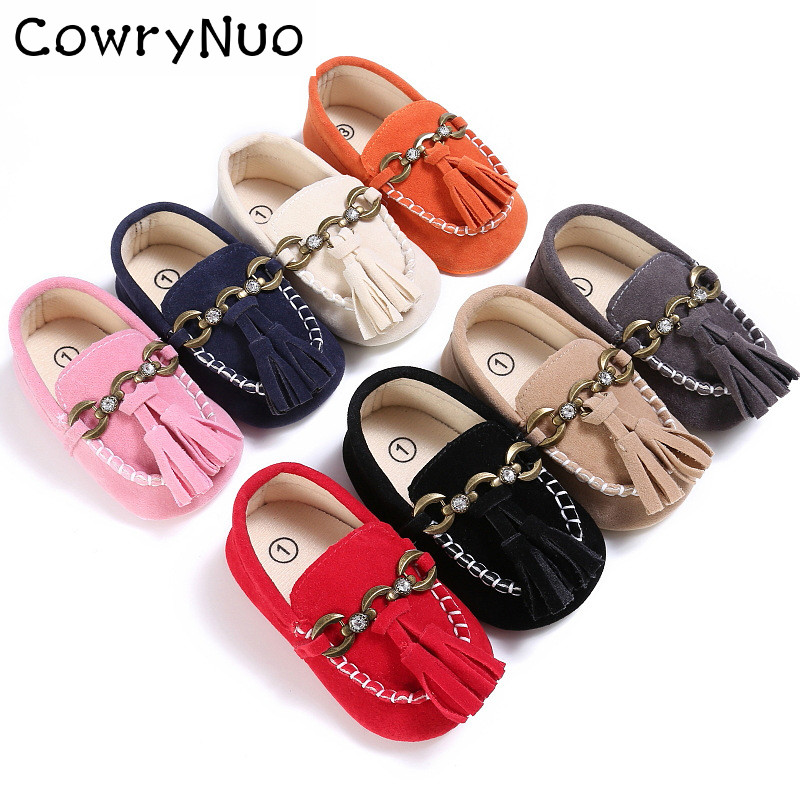 New Arrival Baby Boys Girls Toddlers Loafers for Spring Crib Shoes for Kids Pre-walker