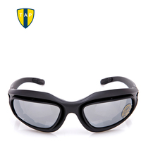 C5 Polarized Military Glasses Goggles Men Tactical Sunglasses Outdoor Motocycle Cycling Gafas 4 Lens Windproof Eyewear Oculos