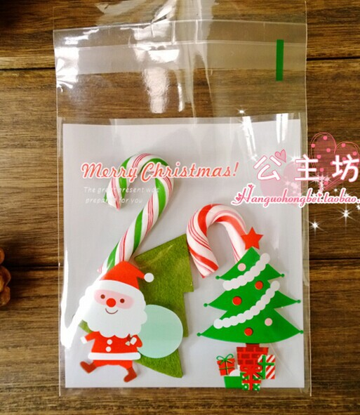 Presents Under The Christmas Tree: 100pcs/lot Gifts Under The Christmas Tree Cookieplastic