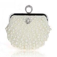 Neue Mode Kupplungen Mini Frauen Geldbeutel und Handtaschen Perlen Frauen Abendtaschen für Hochzeit
