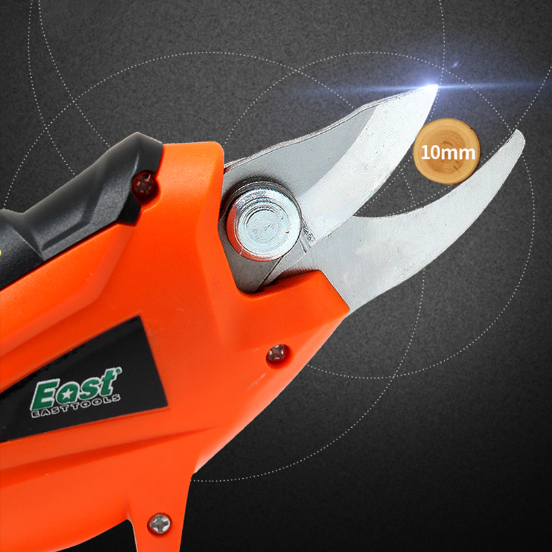Tools : EAST 3 6V Li-ion Cordless Electric Pruning Shears Secateur Branch Electric Pruner Cutter Fruit Pruning Garden Power Tool ET1505