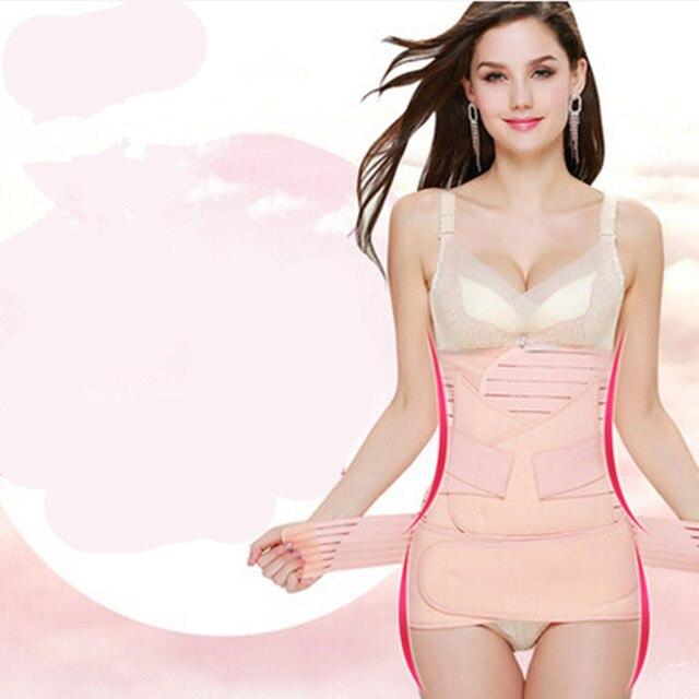 Postpartum abdomen belt drawing maternity corset belt gauze eutocia maternity body shaping girdle body shaping M,L,XL