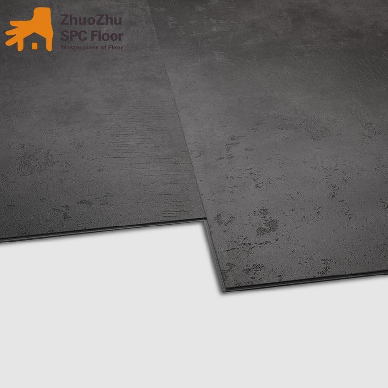 Plancher de serrure composé de pierre-plastique, marbre d'imitation, aucun formaldéhyde, imperméable et résistant à l'usure, ménage et commercial