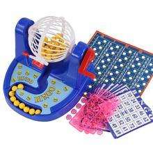 Лотерея счастливые шары Бинго игровой автомат набор детей настольные развивающие игрушки