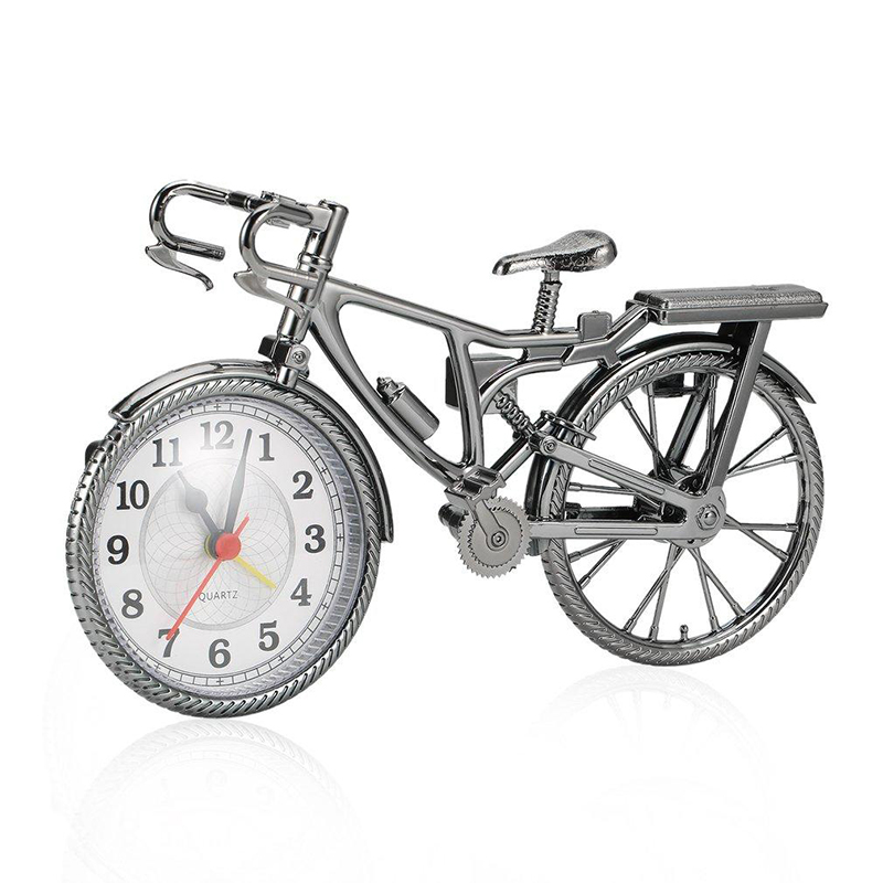 Bicycle Home Decor: Creative Classic Art Bicycle Shape Clock Child Kid Bicycle