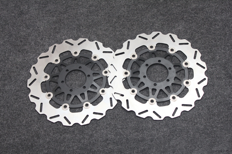 Motorcycle Front Brake Disc Rotors For DUCATI 900 SS 907 IE APRILIA  RST 1000 FZ 400 FZ750
