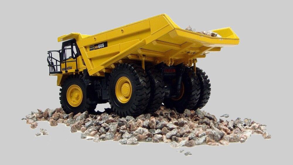 Hobi Universal Komatsu HD 605 Kamion jashtë autostradës 1:50 - Makina lodër për fëmije - Foto 3
