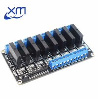 1pcs 8 Channel 5V DC Relay Module Solid State LowLevel SSR AVR DSP 2A 240V H51