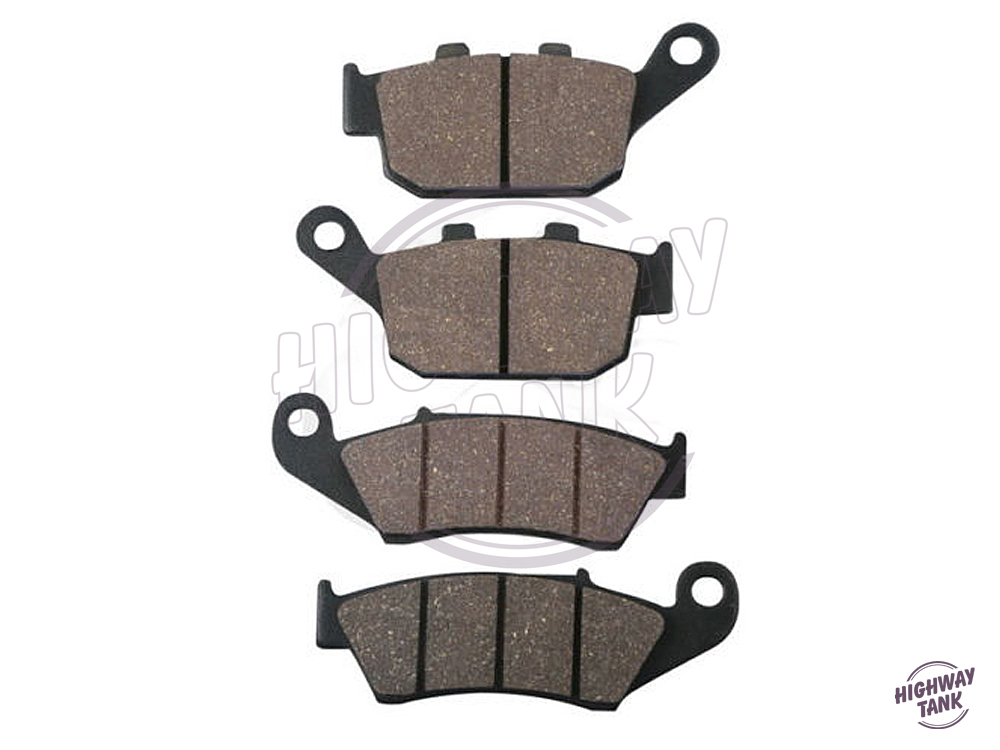 4 PCS Motorcycle Front Rear Brake Pads case for HONDA NX 650 DOMINATOR XL600V XL650V TRANSALP XRV750R 1995-2000 free shipping motorcycle front rear brake pads for kawasaki gpx 600 r zx600 1988 1996 gpx 750 r zx750 1987 1989 zr750 1991 1995 zx100 zx10 p04