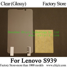 Clear Glossy Screen Protector Guard Cover protective Film For Lenovo S939 Lenovo IdeaPhone S939