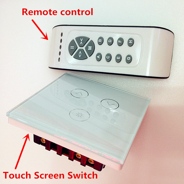 10pcs new led touch dimmer switch and infrared remote control 0 500w ac 110v 220v 230v ce rohs. Black Bedroom Furniture Sets. Home Design Ideas