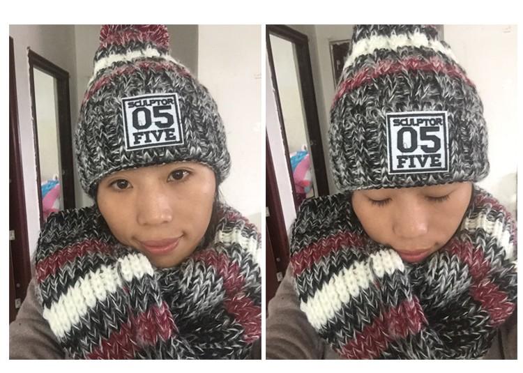 glove scarf hat -set (2)