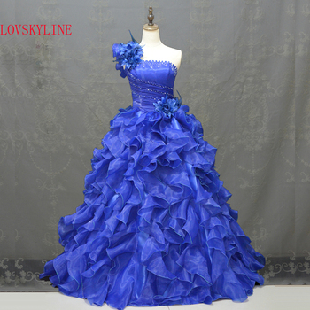 Real photo Quinceanera Dress Ball Gown Beading Sleeveless Sweetheart Tiered Floor Length Formal dress