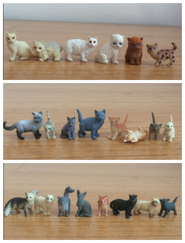 super mini solid pvc figure pet cats animals models toys children birthday gift toys holiday gift ornaments 22pcs/set 12pcs set children kids toys gift mini figures toys little pet animal cat dog lps action figures