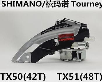 Torneo FD-TX50 FD-TX51 desviador S 7S 8S 8S MTB bicicleta cambio de velocidades de bicicleta TX50 TX51