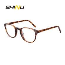 Новое поступление нолин Мультифокальные Прогрессивные очки для чтения ацетатные оптические очки для женщин и мужчин