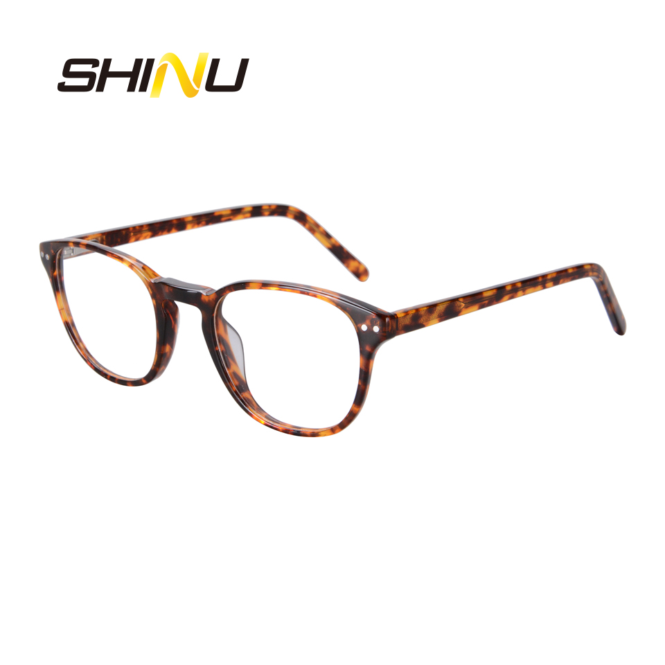 New Arrival Noline Multifocal Progressive Reading Glasses Acetate Optical Eyeglasses See Near & Far Eyewear Women Men Reader